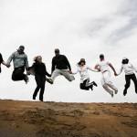 عکسهای هیجان و شادی در ریگ جن